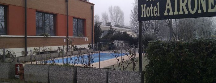 Airone Hotel Reggio Emilia is one of Orte, die Andrea gefallen.