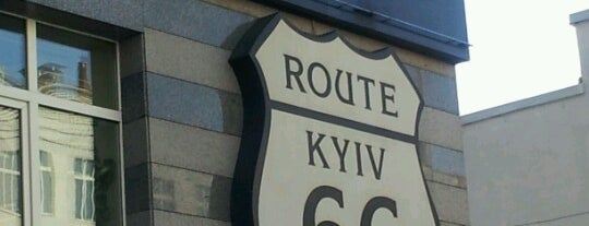 Route 66 is one of EURO 2012 KIEV (PUBS & BARS).