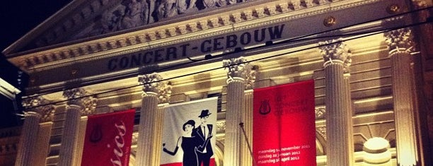 Het Concertgebouw is one of Holland.