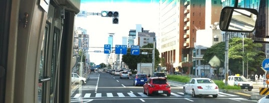 伏見町バス停 is one of 都市間高速バス多治見線.