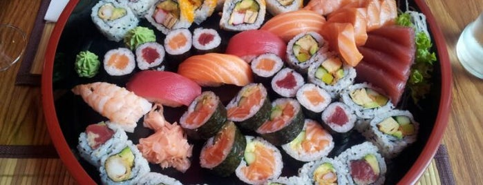 Sakura Sushi & Sashimi is one of Leuven (Food, Drinks & Fun).
