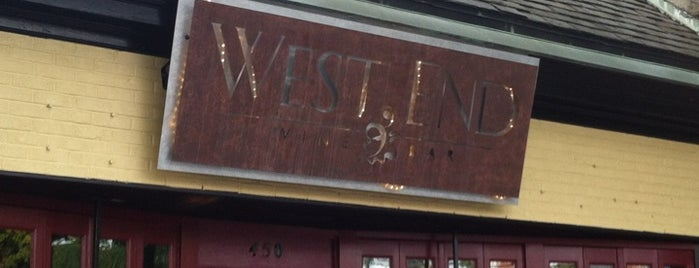 West End Wine Bar is one of Chapel Hill & Carrboro Favorites.