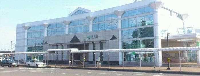 Tōkai Station is one of JR 키타칸토지방역 (JR 北関東地方の駅).