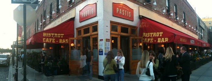 Pastis is one of The Best Restaurants for Celebrity Spotting.