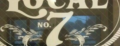 Local No. 7 is one of Robert: сохраненные места.