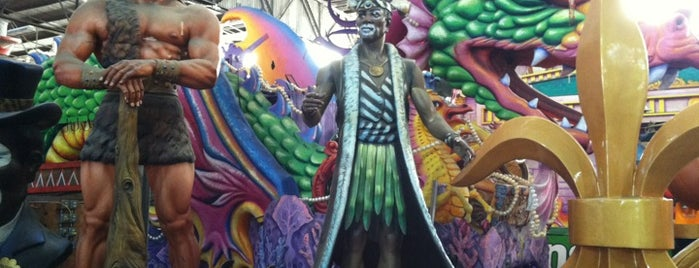 Blaine Kern's Mardi Gras World is one of New Orleans.