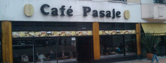 Café Pasaje is one of Colombia.