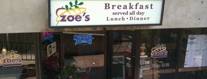 Zoe's Kitchen is one of Boston.