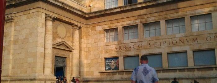 Museu Nacional Arqueològic de Tarragona (MNAT) is one of Arqueoxarxa.