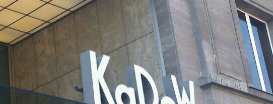 Kaufhaus des Westens (KaDeWe) is one of Berlin spots to visit.