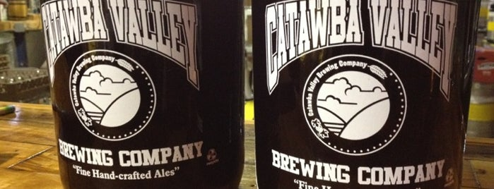 Catawba Valley Brewing Co. is one of NC Craft Breweries.