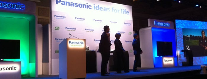 Panasonic Press Conference CES 2012 is one of Las Vegas, NV.