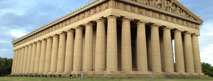 The Parthenon is one of Tempat yang Disimpan Joshua.