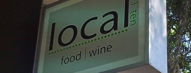 Local 11 Ten is one of Gay-Friendly Restaurants in Savannah, GA.