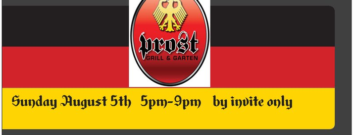 Prost Grill & Garten is one of Places I love to EAT.