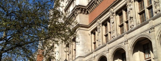 Victoria and Albert Museum (V&A) is one of London Favorites.