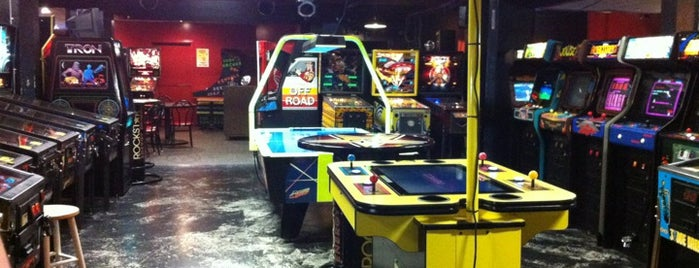 Dorky's Arcade is one of Lugares guardados de A.