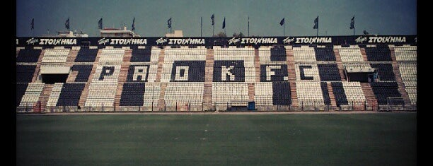 Toumba Stadium is one of Thessaloniki #4sqCities.