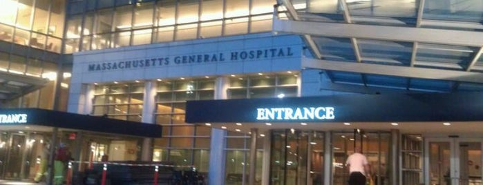 Massachusetts General Hospital is one of Boston, MA.