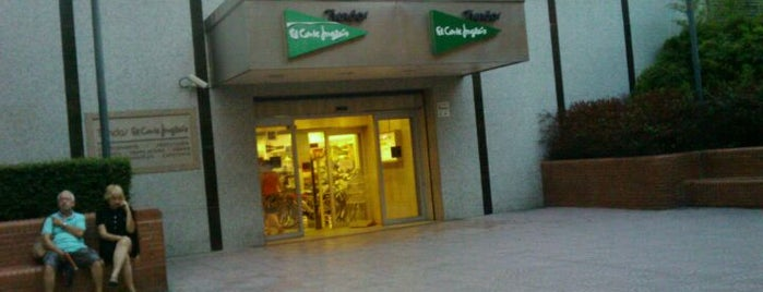 El Corte Inglés is one of Nou Barris.