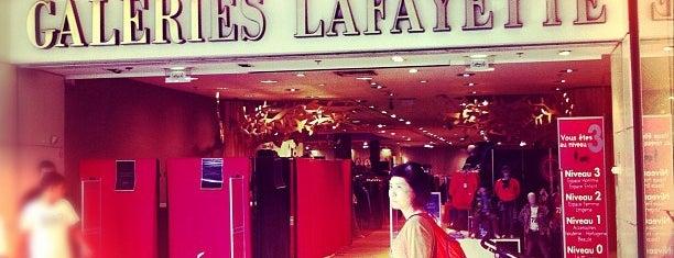 Galeries Lafayette is one of Orte, die Phanie gefallen.
