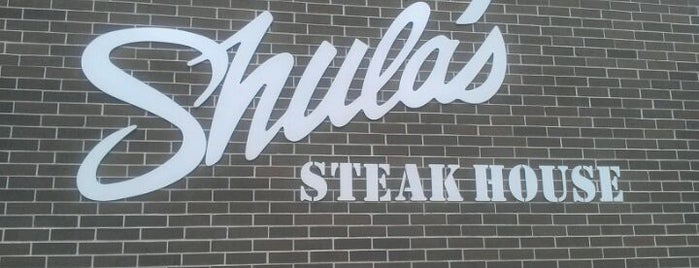 Shula's Steak House is one of Houston, Texas.