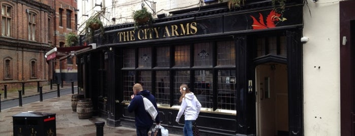 The City Arms is one of Wales.