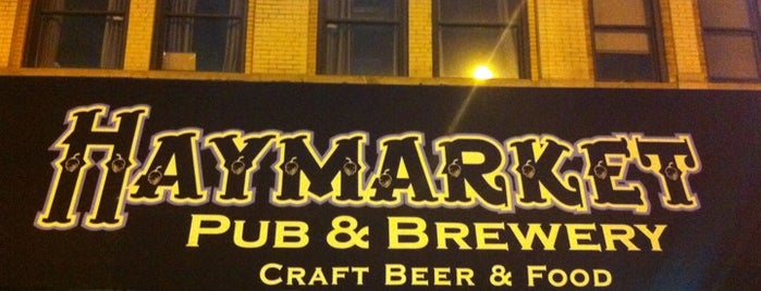 Haymarket Pub & Brewery is one of Chicago's Best Beer - 2012.