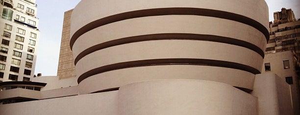 Solomon R Guggenheim Museum is one of New York Favorites.