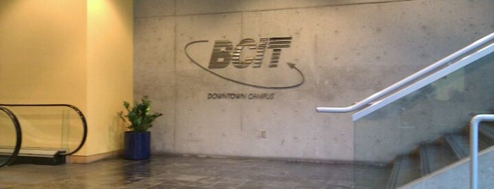 BCIT - Downtown Campus is one of Tempat yang Disukai Moe.