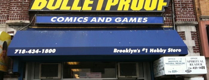Bulletproof Comics is one of Lugares guardados de TripleJ18.