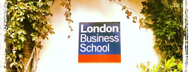London Business School is one of London for P' Arenui.