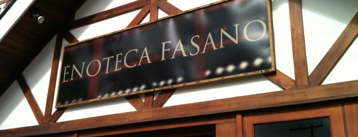 Enoteca Fasano is one of The best of Campos do Jordão.