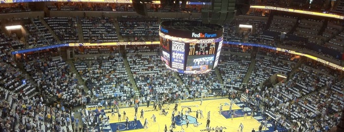 FedExForum is one of NBA Arena Guide.