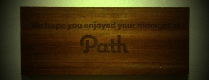 Path is one of Silicon Valley Tech Companies.