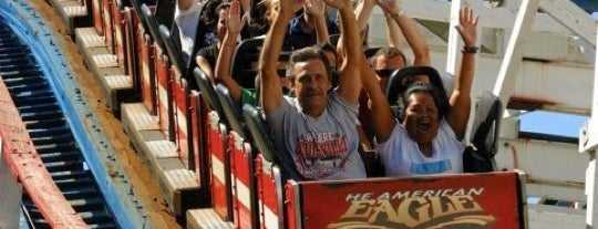 Six Flags Great America is one of The Most Popular Theme Parks in U.S..