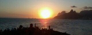 Pedra do Arpoador is one of Rio de Janeiro's best places ever #4sqCities.