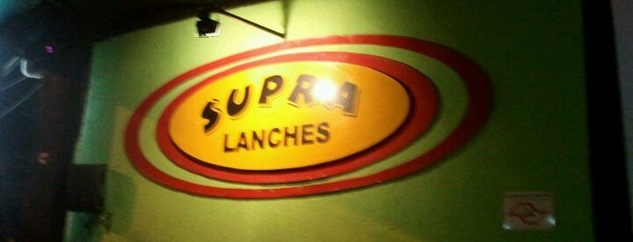 Supra Bar is one of LUGARES.