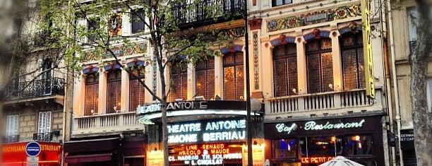 Théâtre Antoine is one of França.