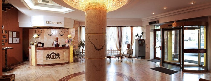 Євроготель / EuroHotel is one of Lugares favoritos de Emine.