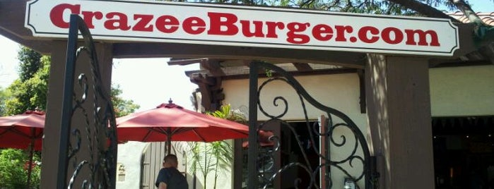 Crazee Burger is one of 2011 Dining Out for Life San Diego.