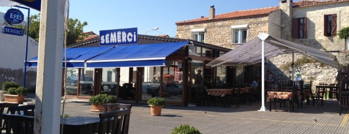 Semerci Cafe is one of Yeni Foça.