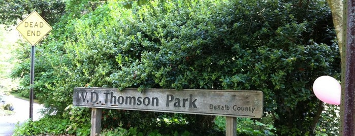 W.D. Thompson Park is one of To do in ATL.
