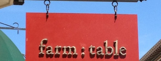 farm : table is one of SF.