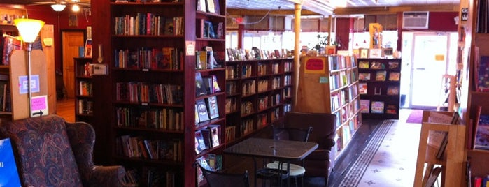Inquiring Minds Bookstore and Coffee is one of Upstate.
