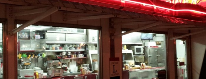Cindy's Diner is one of ?.
