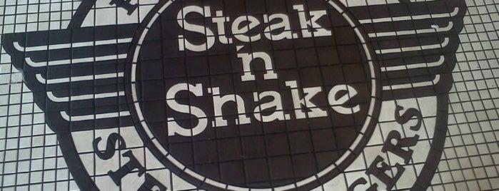 Steak 'n Shake is one of Andrew 님이 좋아한 장소.