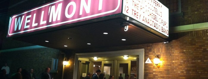 The Wellmont Theater is one of Music Venues We Love.