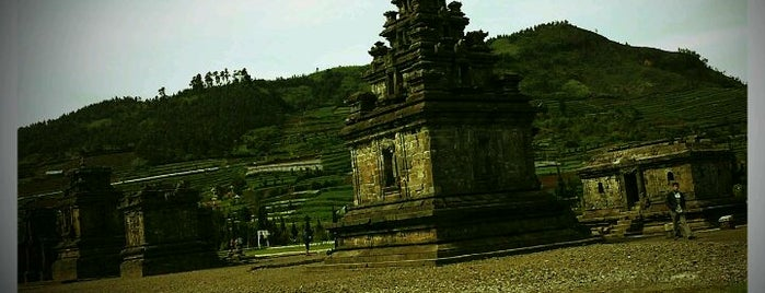 Dieng Plateau is one of Temples and statues in Indonesia.