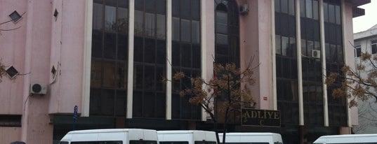 Kadıköy Adliyesi C Blok is one of İstanbul Adliyeleri.